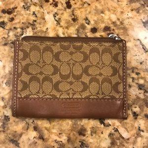 Coach ID/ coin pouch